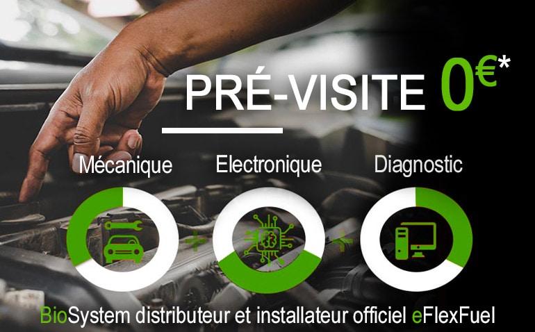 kit E85 eFlexFuel - pré visite installation offerte